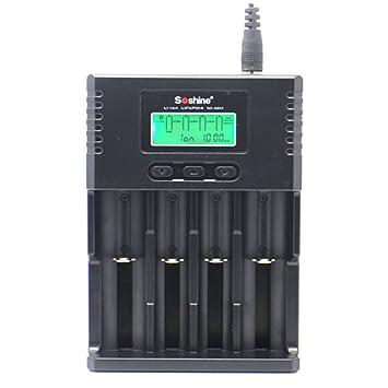 Cargador universal 14500 para Li-ion / NiMH / LiFePO4, 18350. Cargador 18650, 26650, AA, AAA, C