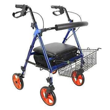 Andador con ruedas para trabajo pesado, andador plegable con ...