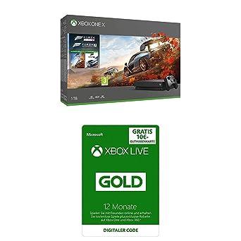 Xbox One X Forza Horizon 4 & Forza Motorsport 7 Bundle + Game Pass