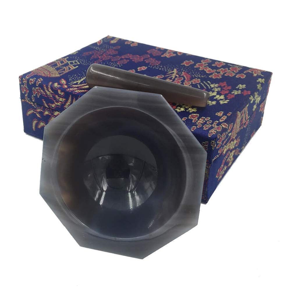 120mm Natural Agate Mortar with Pestle Chemistry Medical Laboratory Supplies Lab Eequipment Chemical Lab Grinding