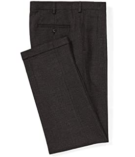 569fefbcc Roundtree & Yorke Pleated Ultimate Comfort Classic Fit Dress Pants  S75PR84232 Charcoal