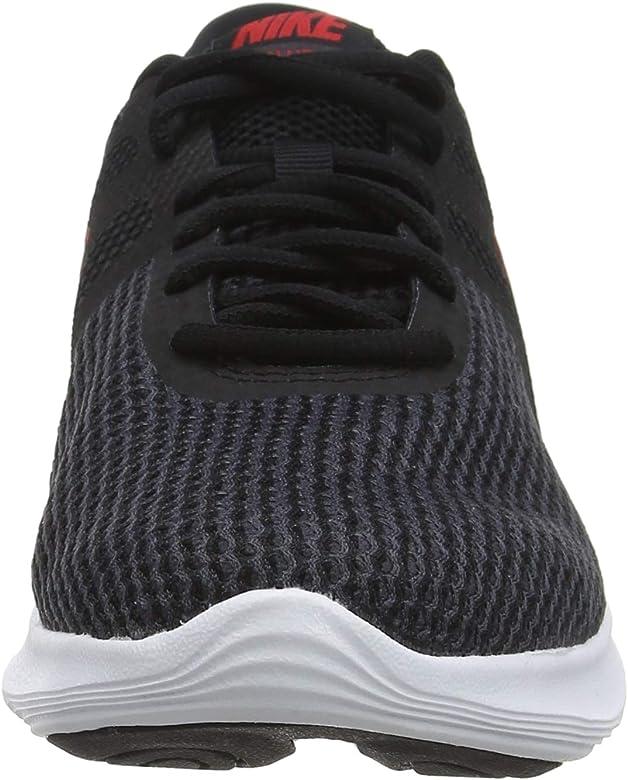 Nike Revolution 4, Zapatillas de Running para Hombre, Multicolor (Black/University Red/Oil Grey/White 061), 38.5 EU: Amazon.es: Zapatos y complementos