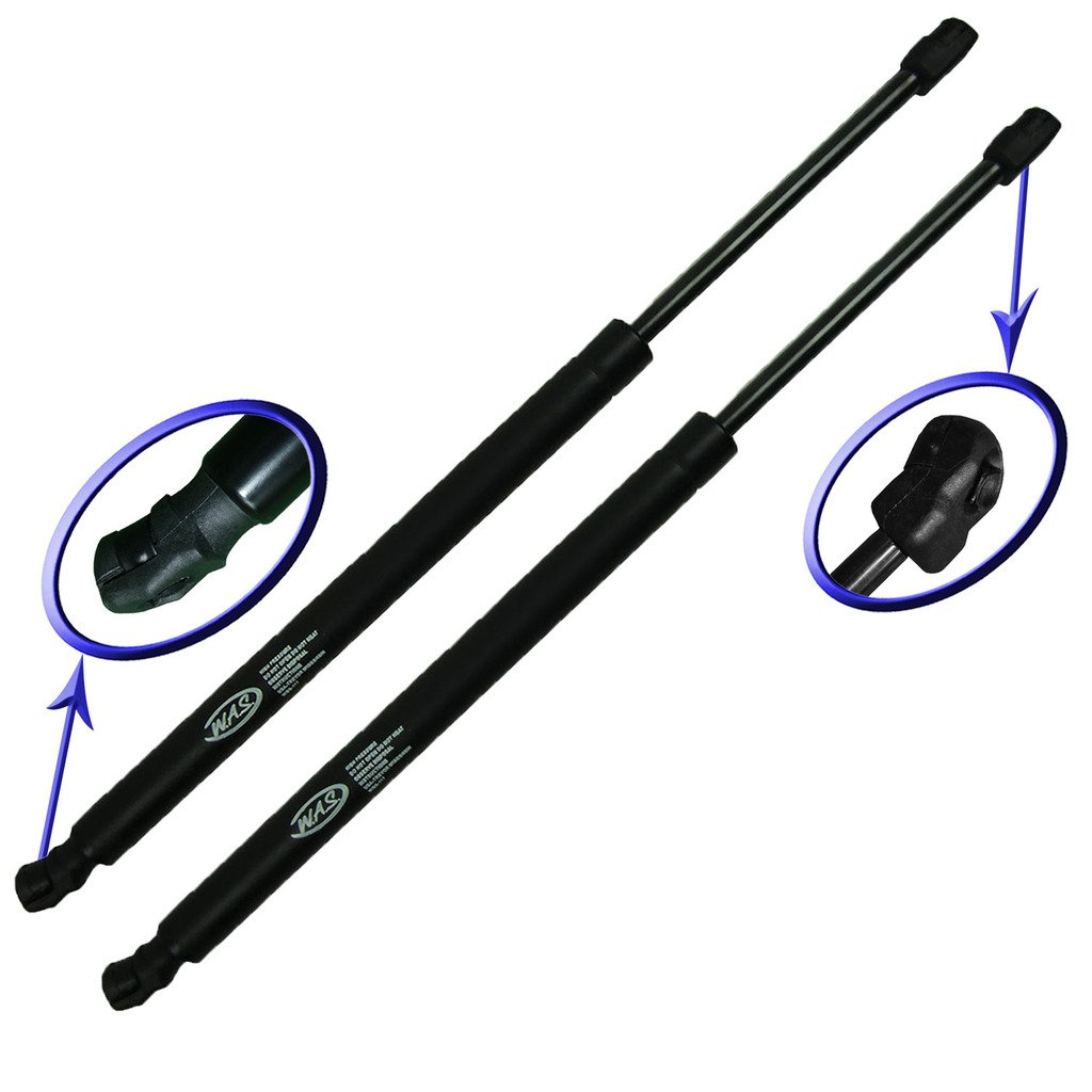 Two Rear Glass Gas Charged Lift Supports for 06-10 Ford Explorer, 06-10 Mercury Mountaineer. Left or Right Side. WGS-281-2