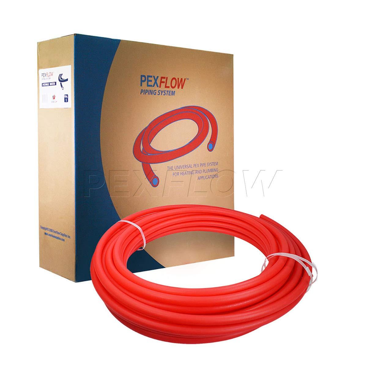 100 ft Pexflow PFW-R34100 Potable Water Pex tubing Red