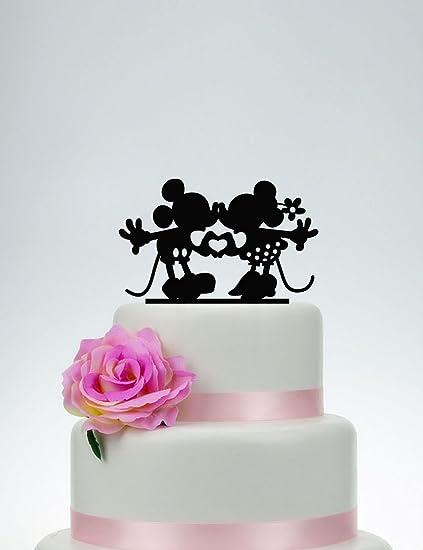 Mickey And Minnie Cake Topper,Wedding Cake Topper,Custom Cake Topper ...