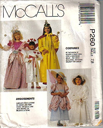Childrens McCall's Costumes Pattern P260 -