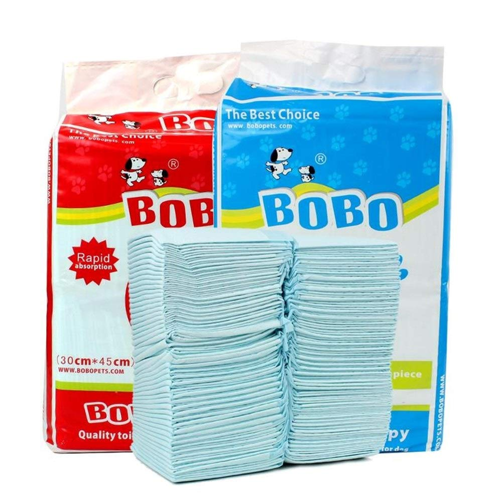 L Dog Diapers, deodorizing Absorbent Teddy pet Diapers, Large Trumpet Thickening Dog pad, SL (Size   L)