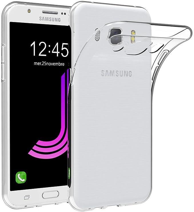 REY Funda Carcasa Gel Transparente para Samsung Galaxy J7 (2016 ...