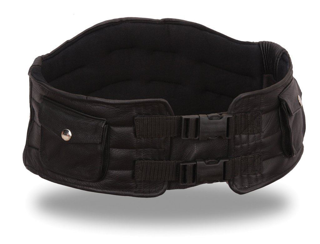 First Manufacturing Back Support Belt (Black, Small)