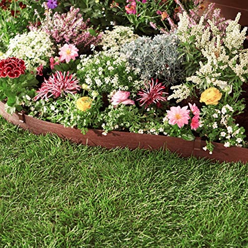 AmazonBasics – Bordura para jardín con estacas, 13 cm: Amazon.es ...