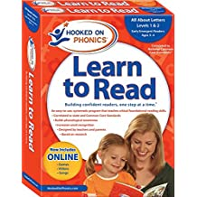 Hooked on Phonics Learn to Read - Levels 1&2 Complete: All About Letters (Early Emergent Readers | Pre-K | Ages 3-4)