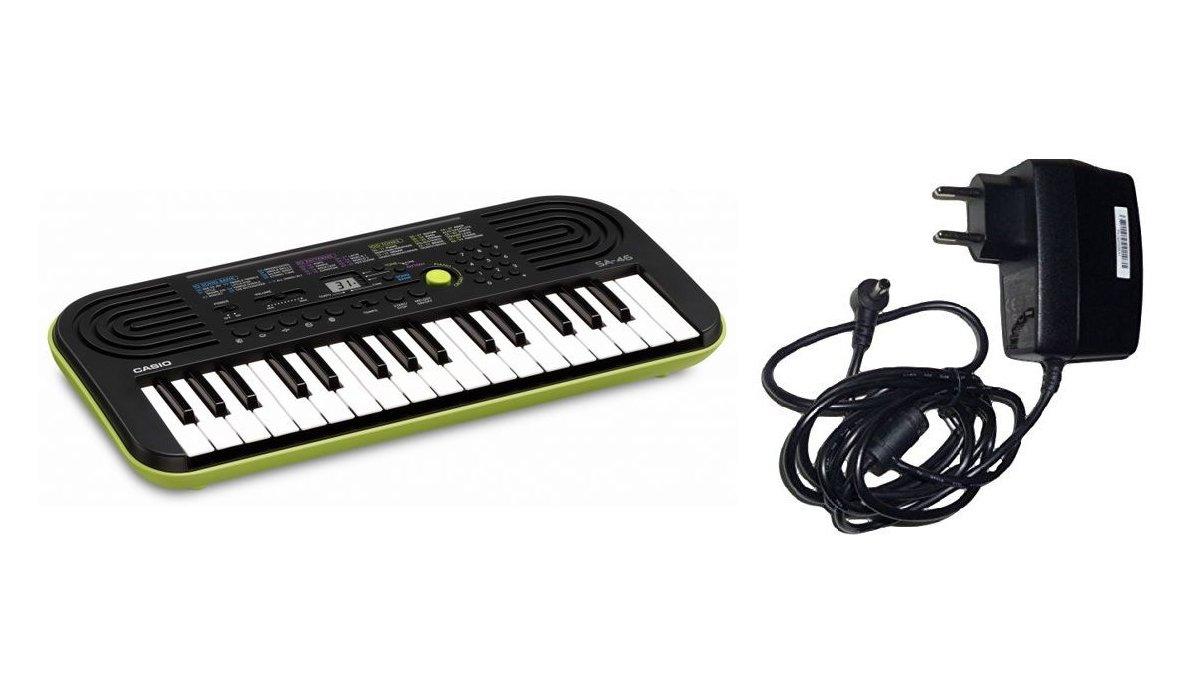 Casio Kids Pack sa46 teclado 32 teclas Mini/Fuente de alimentación: Amazon.es: Instrumentos musicales