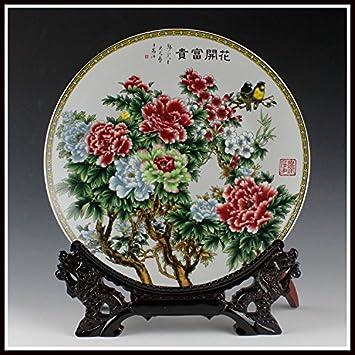 Yqooo En Ceramique Murale Decorative A Suspendre Decoration Murale