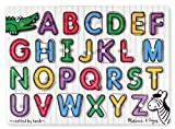 This wooden peg puzzle includes a piece for each of the 26 letters in the alphabet. A colorful picture under each piece shows an image beginning with the same letter, helping to develop letter recognition and pre-reading skills! Also encourag...