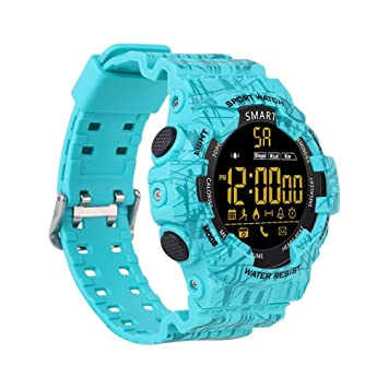 HX0945 EX16C Camo Smartwatch 5 ATM Actividad Impermeable del ...