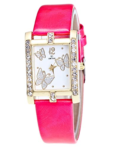 3cae553f7f356 Amazon.com  Butterfly Watches for Women