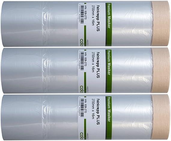 Colorus Masker Tape PLUS Feinkrepp 30 cm x 33 m Abdeckfolie Malerkrepp Malerfolie ?