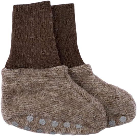 40/% Bio Baumwolle 1, Lindgr/ün-Melange Cosilana Baby Fleece Handschuhe 60/% kbT Schurwolle