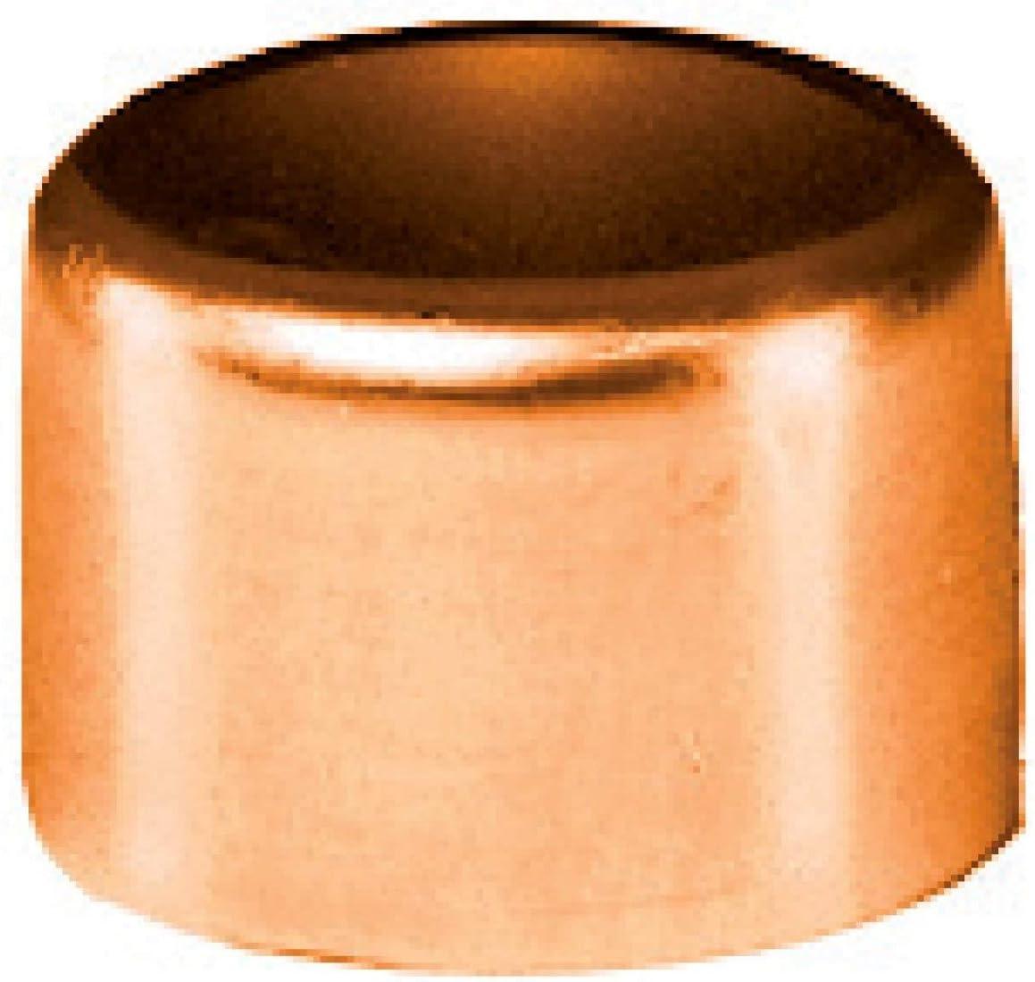 femelle bouchon /à souder en cuivre sachet de 2 diam/ètre 12 mm