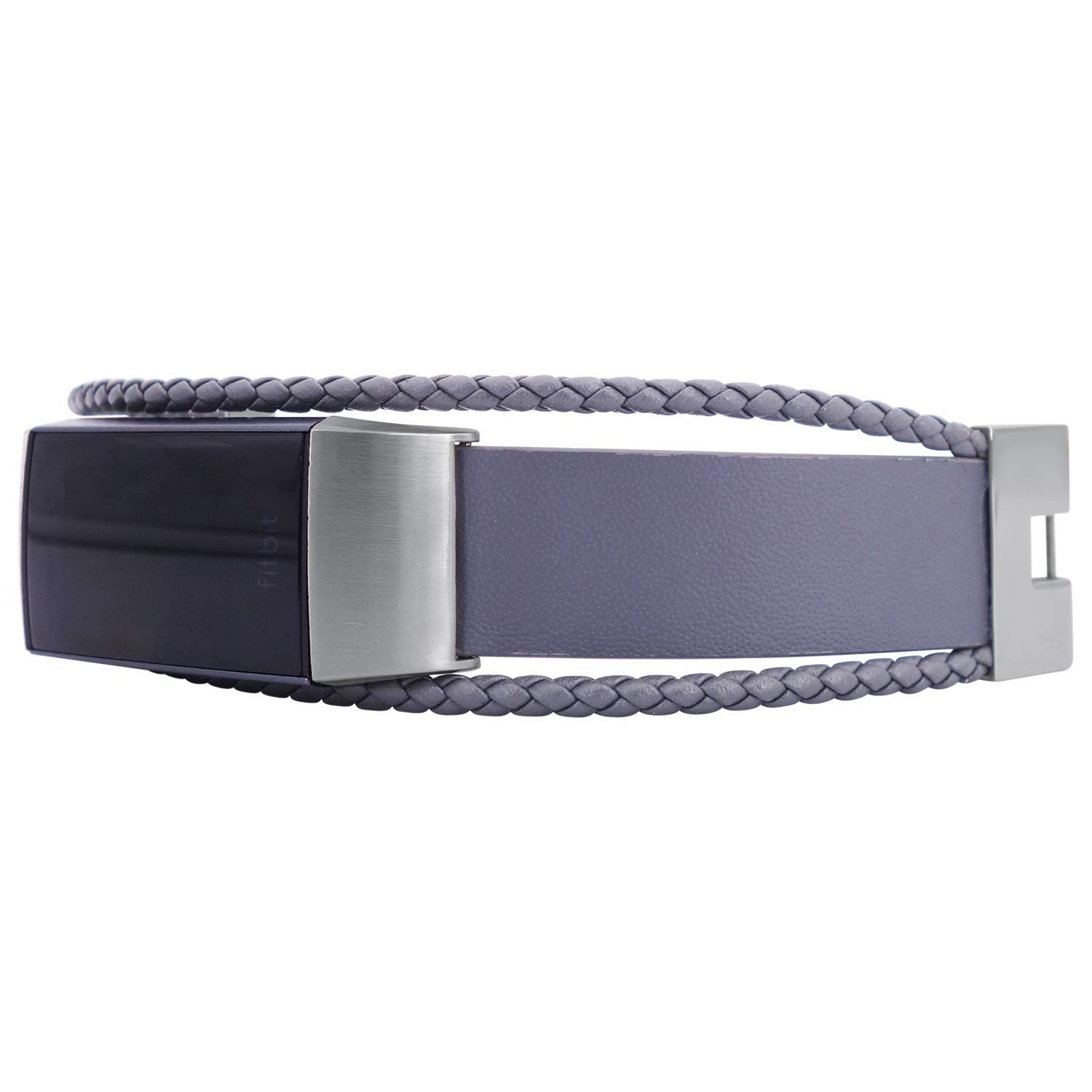 Black//Black Size S-M 5.5-6.5 inches fitjewels Aurel band compatible with Fitbit Charge 3 fitness tracker