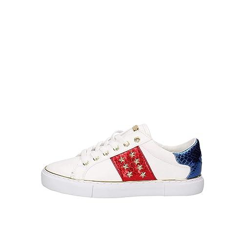 2f0f6281 Calzado Deportivo para Mujer, Color Blanco, Marca GUESS, Modelo Calzado  Deportivo para Mujer GUESS Gamer Blanco: Amazon.es: Zapatos y complementos