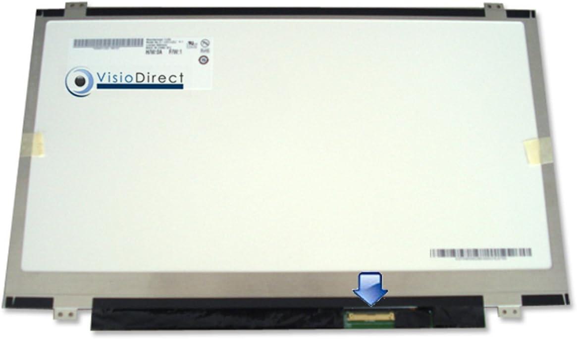 Schermo Display 14 LED tipo N140BGE-LA2 REV.C1 1366X768 40Pin VISIODIRECT