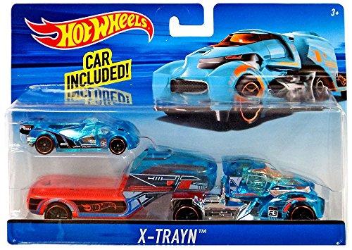 Hot Wheels X-Trayn Hauler with Car ()