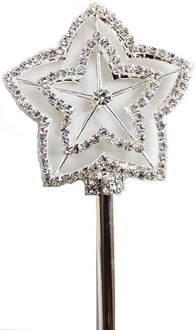 wedding wand metallic wand queen wand princess wand Rose gold metallic wand girl wand gemstone wand