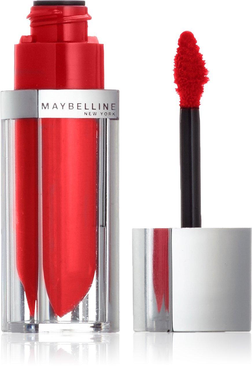 Maybelline New York Make-Up Lipgloss Color Sensational Elixir Mandarine Rupture / Kräftiges Orange für farbintensive und gepflegte Lippen, 1 x 5 ml 3600530958085