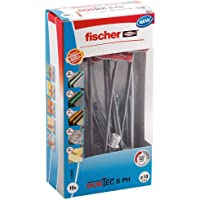 fischer DUOTEC 10 S PH, kantelpluggen met panheadschroef, 2-componenten pluggen, holle pluggen voor bevestiging in…