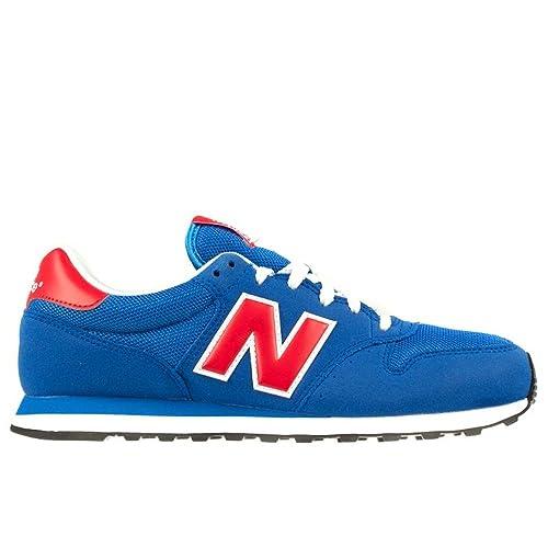 new balance hombre azul y rojo