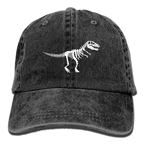 Cloth Cap Youth (MEILOP Tyrannosaurus Rex Skeleton Dinosaur Adult New Style COWBOY HAT)