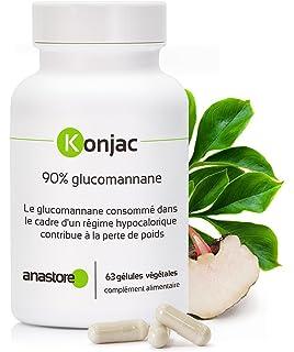 Anastore Glucomanano Konjac 371 mg - 63 Cápsulas