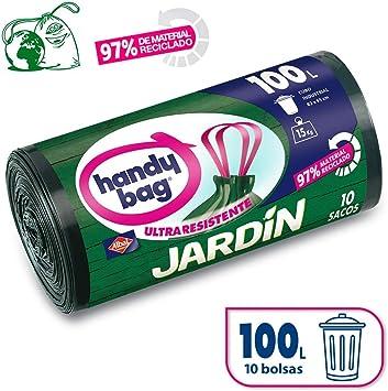 Handy Bag Bolsas de Basura 100L Jardín, 97% Reciclado, Extra ...