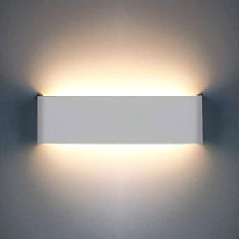 wholesale dealer 1d352 c347b 12W LED Wall Light Indoor 1200LM Up Down Indoor Wall Lamp 20years Lifespan  Modern Aluminum Wall Lights for Living Room Bedroom Dining Room Corridor ...
