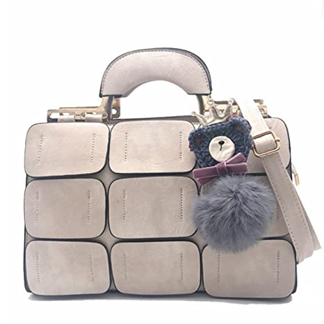 ea1852d9116c Amazon.com: UOXMDNJC Pu Leather Bags Handbags Women Bags Designer ...