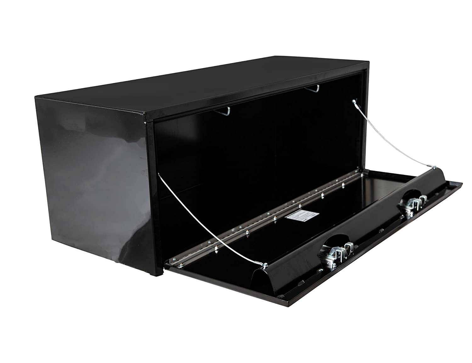 Buyers Products White Steel Underbody Truck Box w// Paddle Latch 18x18x24 Inch