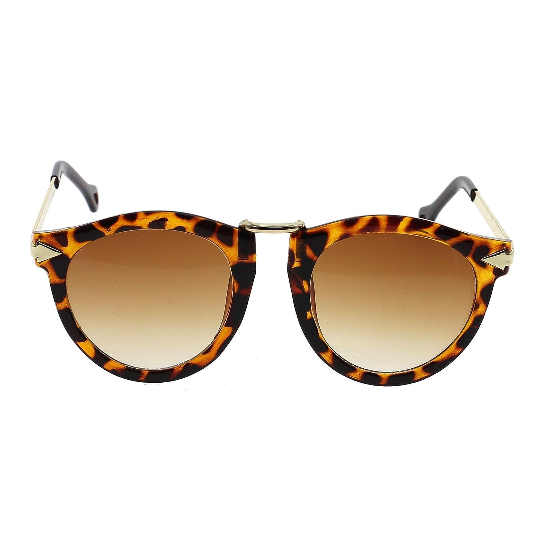 VANKER gafas de sol polarizadas de marco de metal gafas para las mujeres -- Leopardo