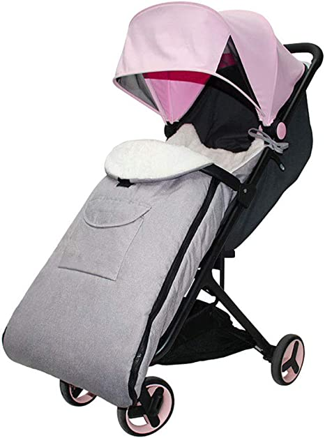 Opinión sobre Baby Stroller Footmuff Cosytoes, Baby Stroller Padded Anti-Kicking and Waterproof Sleeping Bag, Fit for Pushchairs, Strollers, Prams and Buggy Baby