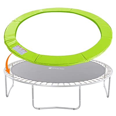 Exacme Trampoline Replacement Safety Pad Spring Cover, No Slots for Poles, Variety of Sizes and Colors : Sports & Outdoors