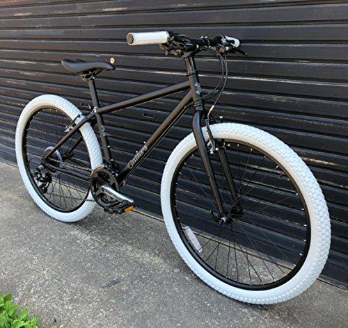 【クロスバイク】CULTURE BIKE / FAT S260 B00JGSX0W2マットブラック 15インチ