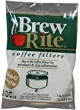 """Disc Coffee Filter for 3 and 3.5"""" Percolator 600 Count Brew Rite"""