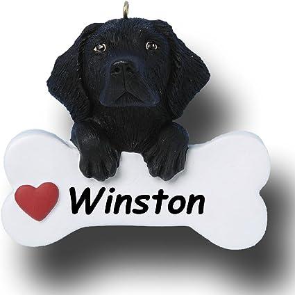 Personalised Dog Santa Sack Black Labrador