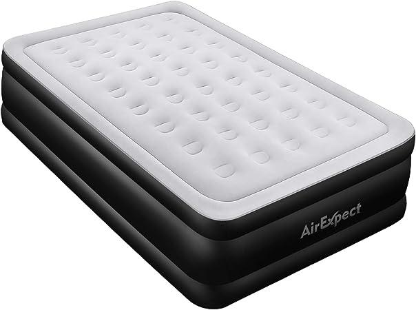 Amazon.com: Colchón de aire Queen con bomba incorporada ...