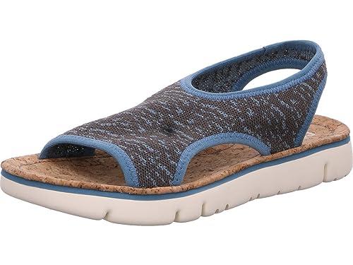 116b4185a4a Camper Oruga - Sandalias Mujer Azul Talla 40  Amazon.es  Zapatos y  complementos