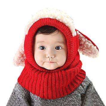 f8279dff01e5c2 Amazon | iCasso赤ちゃん帽子 ベビー キッズ 子供用の可愛いウサギちゃん ...