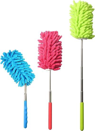 Plumeaux de nettoyage légers lavables de Duster pour les armoires de nettoyage