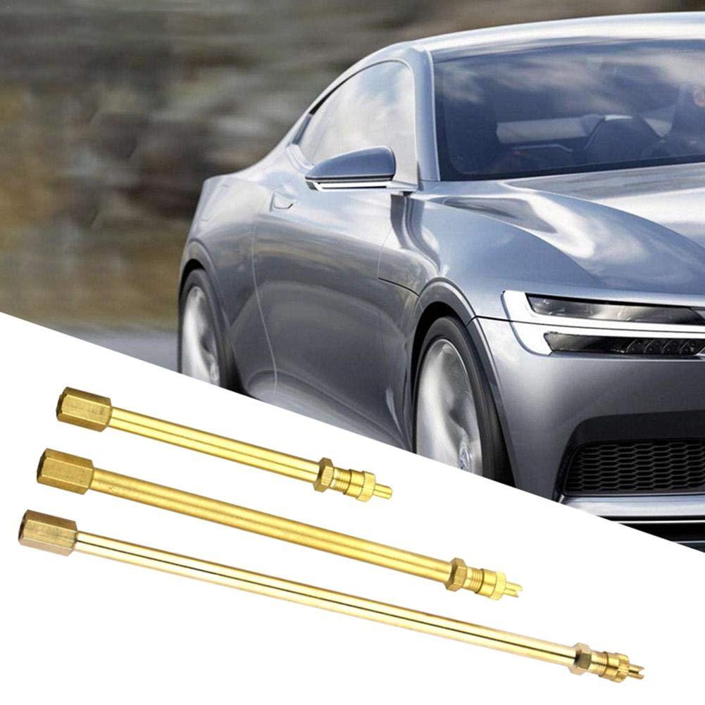 v/élo al/ésage de gonflage Stright pour Moto Adaptateur de rallonge de Valve AutoTire en Laiton Tondeuse et Scooter Desirabely rallonge de Tige de Pneu pneumatique