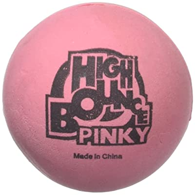 Amazing PINKY Hi- Bounce Balls: 2.25 Inch Party Favor: Toys & Games