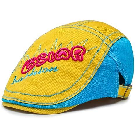 Shining-hat Chapelas para Hombre Boinas para Hombre Gorra de Pato ...